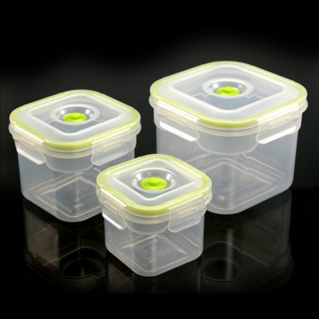 Envases de vacío cuadrados