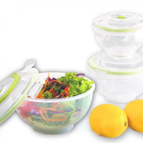 Envases de vacío semiesféricos