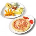 Dos platos F&F 30 cm