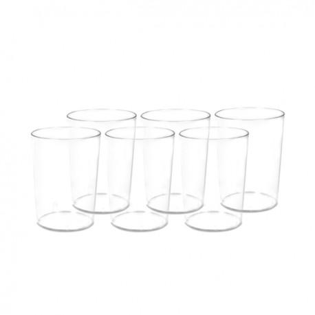 Set de 6 vasos de sidra