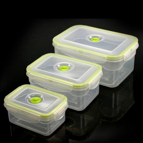 Envases rectangulares para vacío
